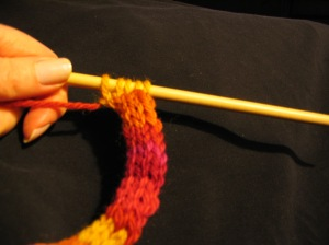 This is a 5-stich i-cord.